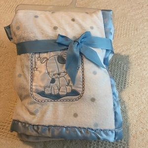 Other - Baby boy soft blanket